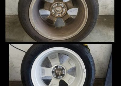 before and after wheels