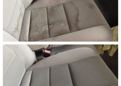 before and after cloth seat